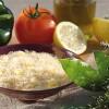 Daurade créole au riz et ananas séché
