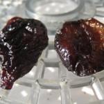 Prune séchée ou pruneau