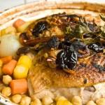 Tajine au poulet et aux fruits séchés